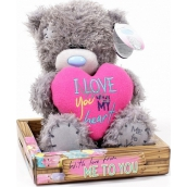 Me to You Teddy Bear I Love You heart 14 cm