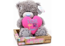 Me to You Medvídek I Love You srdce 14 cm