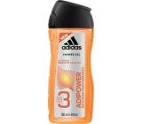 Adidas Adipower shower gel for men 250 ml