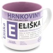 Nekupto Mugs Mug with the name Eliška 0.4 liters