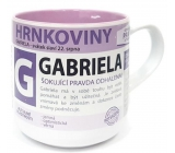 Do not Buy Pot Mug with the name Gabriela 0.4 liters