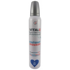 Vitale Exclusively Professional Coloring Mousse With Vitamin E Blue - Blue 200 ml