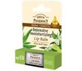 Green Pharmacy Aloe Vera and Lime Moisturizing Lip Balm 3.6 g