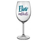 Nekupto NZ wine glass UY 001 Elixir of youth