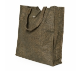 Albi Eco bag made of washable folding paper - brown 37 cm x 37 cm x 9.5 cm