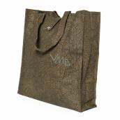 Albi Eco bag made of washable folding paper - brown 37 cm x 37 cm x 9.5 cm