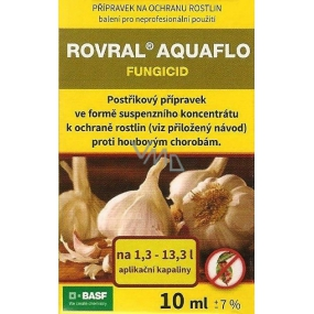 Basf Rovral Aquaflo preparation against fungal diseases and pickling of garlic 10 ml