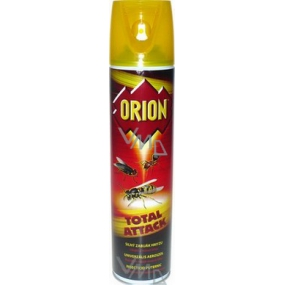 Orion Total Attack powerful insect killer flying and crawling insect spray 400 ml