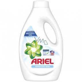 Ariel Sensitive Skin liquid washing gel 20 doses 1100 ml