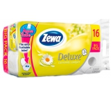 Zewa Deluxe Aqua Tube Delicate Camomile Comfort perfumed toilet paper 3 ply 150 pieces 16 pieces, roll that can be washed away