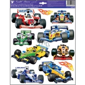 Room Decor Wall stickers Racing cars formula 33 x 29 cm
