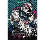 Ditipo Disney Children's gift bag Monster Hight black-blue-white 18 x 10 x 22,7 cm