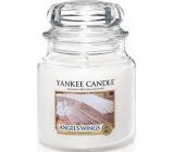 Yankee Candle Angels Wings - Andělská křídla vonná svíčka Classic střední sklo 411 g