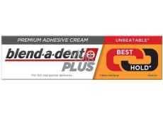 Blend-a-dent Plus Dual Power fixation cream for dental prosthesis 40 g