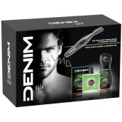 Denim Wild AS 100 ml men's aftershave + 250 ml shower gel + Trimmer - hairdresser