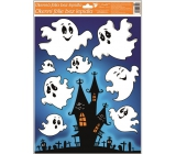 Window Films with Glitter 42x30 cm, Halloween Ghosts 967 6490
