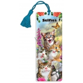 Prime3D bookmark - Cat Selfie 5.7 x 15.3 cm