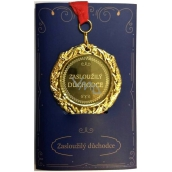 Albi Envelope Card Greeting Card Medal - Pensioner W