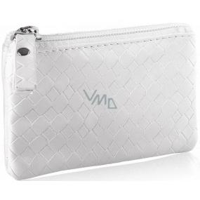 Diva & Nice Cosmetic Handbag White 11.5 x 8 x 0.5 cm 50061