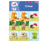 Ditipo Pexeso for the little ones In the forest for children 3+, 10 pairs of pictures