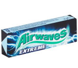 Wrigley with Airwaves Extreme dragee gum 10 pieces, 14 g