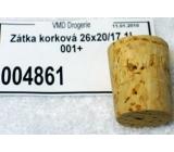 Cork plug 26 x 20/17 1l