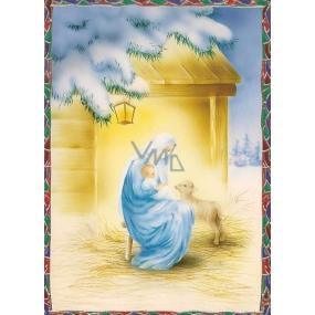Nekupto Postcard Christmas pattern 2 V32 PA 15 x 11 cm