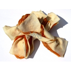 Salač Butterfly made of buffalo skin with chicken supplementary food for dogs and cats 100 g