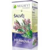 Megafyt Herbal Pharmacy Sage Herbal Tea 20 x 1.5 g