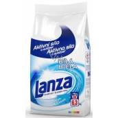 Lanza Fresh & Clean White washing powder for white linen 90 doses of 6.3 kg
