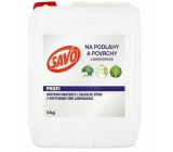 Savo Profi Floors and surfaces Lemongrass disinfectant cleaner for daily cleaning of surfaces 5 kg
