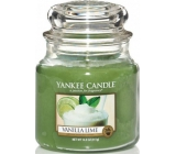 Yankee Candle Vanilla Lime - Vanilla with lime scented candle Classic medium glass 411 g