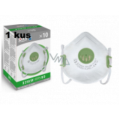 Oral protective respirator - filter half mask 4-layer FFP3, Oxyline X 310 SV with valve Professional protection 1 piece