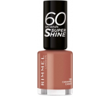 Rimmel London 60 Seconds Super Shine Nail Polish nail polish 130 Caramel Candy 8 ml