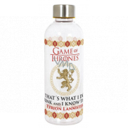 Epee Merch Game of Thrones Hydroes Hydro Plastic bottle with a licensed motif, volume 850 ml