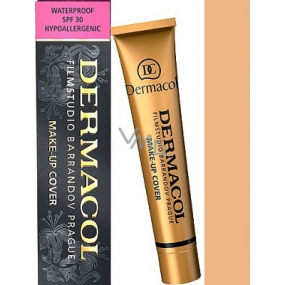 Dermacol Cover make-up 212 waterproof for clear and unified skin 30 g