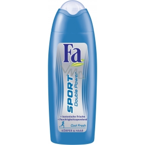 Fa Sport Double Power Cool Fresh 250 ml shower gel for body and hair