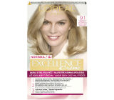 Loreal Paris Excellence Creme hair color 9.1 Blond very light ash