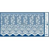 Room Decor Window foil without glue curtain no.3 60 x 30 cm