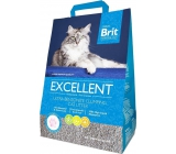 Brit Fresh for Cats Excellent Ultra Bentonite natural clumping litter for cats 5 kg