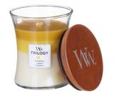 WoodWick Trilogy Fruits of Summer - Plody léta vonná svíčka s dřevěným knotem a víčkem sklo 609 g