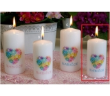 Lima With Dedication Grandmother Candle With Cylinder Cylinder 50 x 100 mm 1 Piece