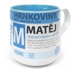 Nekupto Hrnkoviny Mug with the name Matěj 0.4 liters