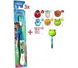 Tomcat toothbrush 3pcs + Automatic free holder +
