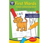 Ditipo Coloring book with stickers The first English words for teaching English to children 4+ 24 pages