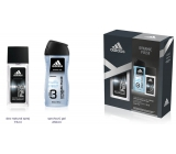 Adidas Dynamic Pulse deodorant glass 75 ml + shower gel 250 ml for men cosmetic set