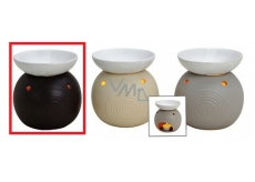 AROMALAMPA ceramic 105x115 Dark Beige Flask 4065