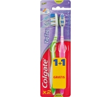 Colgate Zig Zag Flex Medium medium toothbrush 1 + 1 piece