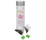 English Tea Shop Bio White tea 15 pieces of biodegradable tea pyramids in a recyclable tin can of 30 g