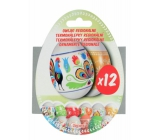 Thermal stickers Regional shrink foil for eggs 12 pieces